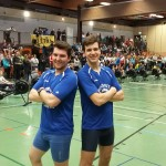 Lennart Ebert (rechts, DHBW) und Tobias Richter (Uni Mannheim)